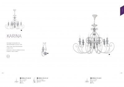 Люстра Maytoni ARM631-PL-08-W KarinaОжидается<br><br><br>Тип цоколя: E14<br>Цвет арматуры: Белый<br>Количество ламп: 6<br>Глубина, мм: 720<br>Оттенок (цвет): Белый<br>MAX мощность ламп, Вт: 60