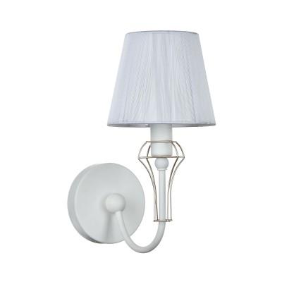 Светильник бра Maytoni ARM709-WL-01-W FrameСовременные<br><br><br>Тип цоколя: E14<br>Цвет арматуры: Белый<br>Количество ламп: 1<br>Ширина, мм: 240<br>Диаметр, мм мм: 150<br>Оттенок (цвет): Белый<br>MAX мощность ламп, Вт: 40