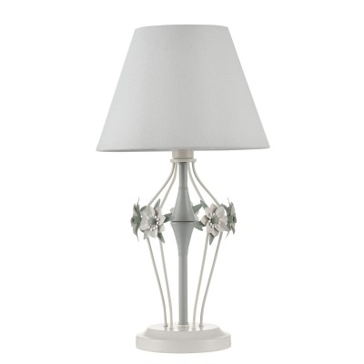 Настольная лампа Maytoni ARM790-TL-01-W FloretНастольные лампы флористика (с цветами)<br><br><br>Тип цоколя: E14<br>Цвет арматуры: Белый<br>Количество ламп: 1<br>Глубина, мм: 260<br>Оттенок (цвет): Белый<br>MAX мощность ламп, Вт: 40