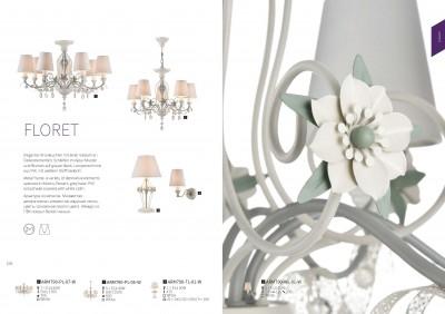 Настольная лампа Maytoni ARM790-TL-01-W FloretОжидается<br><br><br>Тип цоколя: E14<br>Цвет арматуры: Белый<br>Количество ламп: 1<br>Глубина, мм: 260<br>Оттенок (цвет): Белый<br>MAX мощность ламп, Вт: 40