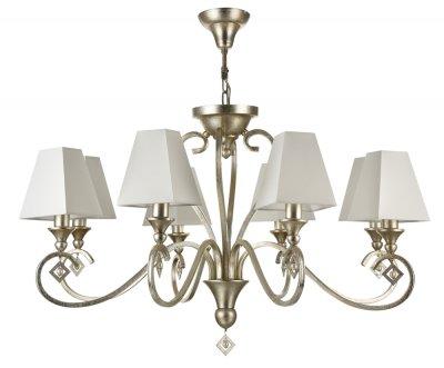 Люстра Maytoni ARM854-08-G Rive GaucheПодвесные<br><br><br>Установка на натяжной потолок: Да<br>S освещ. до, м2: 16<br>Тип цоколя: E14<br>Количество ламп: 8<br>MAX мощность ламп, Вт: 40<br>Диаметр, мм мм: 840<br>Высота, мм: 580
