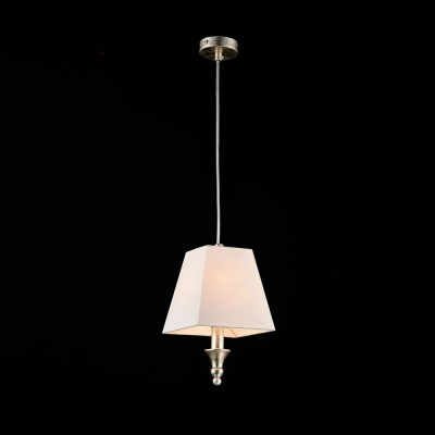 Подвес  Maytoni ARM854-22-G Rive GaucheОдиночные<br><br><br>Тип лампы: Накаливания / энергосбережения / светодиодная<br>Тип цоколя: E14<br>Цвет арматуры: золотая Платина<br>Количество ламп: 1<br>Ширина, мм: 170<br>Длина, мм: 170<br>Высота, мм: 290<br>MAX мощность ламп, Вт: 40