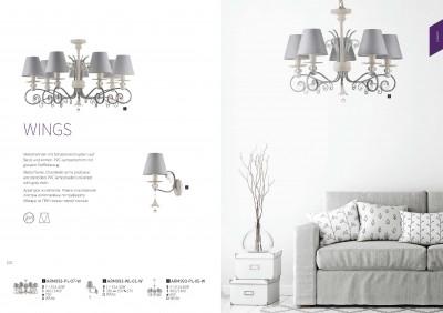 Люстра Maytoni ARM993-PL-05-W WingsОжидается<br><br><br>Тип цоколя: E14<br>Цвет арматуры: Белый<br>Количество ламп: 5<br>Диаметр, мм мм: 650<br>Оттенок (цвет): Белый<br>MAX мощность ламп, Вт: 40