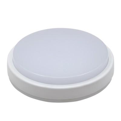 Светильник влагозащищённый СПП-2301 круг 12Вт 4000к 960Лм IP65 220мм ASDНакладные точечные<br><br><br>S освещ. до, м2: 5<br>Цветовая t, К: 4000<br>Тип лампы: LED<br>Тип цоколя: LED<br>Диаметр, мм мм: 160<br>Высота, мм: 53<br>MAX мощность ламп, Вт: 12