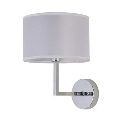 Светильник настенный бра Crystal lux ASTA AP1 1130/401современные бра модерн<br><br><br>Тип цоколя: E14<br>Цвет арматуры: Серебристый Серебристый хром<br>Количество ламп: 1<br>Ширина, мм: 200<br>Длина, мм: 240<br>Высота, мм: 274<br>MAX мощность ламп, Вт: 60