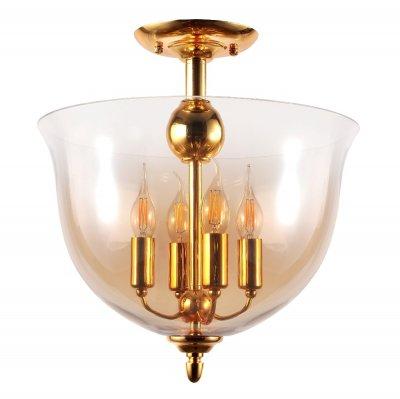 Светильник потолочный ATLAS PL4 GOLD (1151/104) Crystal lux фото