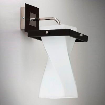 Светильник Alfa 12910 TequilaМодерн<br><br><br>Тип лампы: Накаливания / энергосбережения / светодиодная<br>Тип цоколя: E27<br>Количество ламп: 1<br>Ширина, мм: 150<br>MAX мощность ламп, Вт: 60<br>Длина, мм: 240<br>Высота, мм: 360