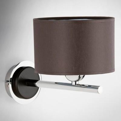 Alfa PAMELA 18100 настенный светильникСовременные<br><br><br>Крепление: Настенное<br>Тип лампы: Накаливания / энергосбережения / светодиодная<br>Тип цоколя: E14<br>Цвет арматуры: Венге, Хром<br>Количество ламп: 1<br>Ширина, мм: 180<br>Диаметр, мм мм: 280<br>Размеры: размер коробки 260x210x180см.<br>Высота, мм: 210<br>MAX мощность ламп, Вт: 40