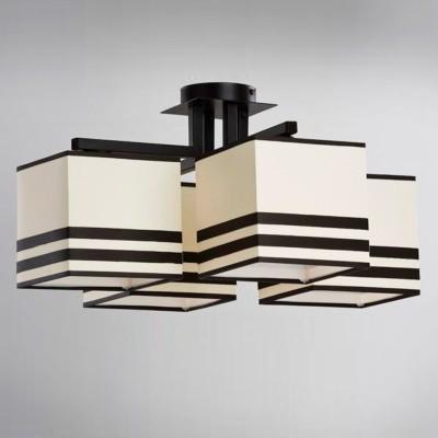 Светильник Alfa 18824 JuliaПотолочные<br><br><br>Тип лампы: Накаливания / энергосбережения / светодиодная<br>Тип цоколя: E27<br>Количество ламп: 4<br>Ширина, мм: 500<br>MAX мощность ламп, Вт: 60<br>Длина, мм: 500<br>Высота, мм: 240