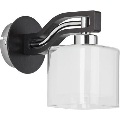 Alfa CONSUL VENGE 21360 настенный светильникСовременные<br><br><br>Крепление: Настенное<br>Тип лампы: Накаливания / энергосбережения / светодиодная<br>Тип цоколя: E14<br>Цвет арматуры: серебристый хром, Венге<br>Количество ламп: 1<br>Ширина, мм: 160<br>Размеры: размер коробки 260x210x180см.<br>Расстояние от стены, мм: 200<br>Высота, мм: 200<br>MAX мощность ламп, Вт: 40