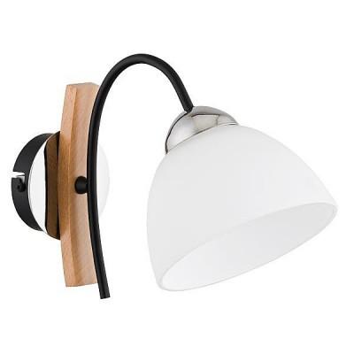 Светильник Alfa 22990 JonaМодерн<br><br><br>Тип лампы: Накаливания / энергосбережения / светодиодная<br>Тип цоколя: E27<br>Количество ламп: 1<br>Ширина, мм: 290<br>MAX мощность ламп, Вт: 40<br>Длина, мм: 150<br>Высота, мм: 195<br>Цвет арматуры: черный