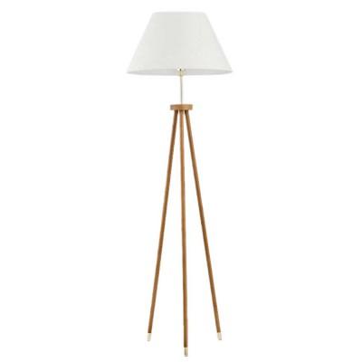 Alfa LENTO  9212 напольный светильникОжидается<br><br><br>Тип цоколя: E27<br>Цвет арматуры: Светлое дерево<br>Количество ламп: 1<br>Диаметр, мм мм: 500<br>Высота, мм: 1580<br>Оттенок (цвет): Белый<br>MAX мощность ламп, Вт: 60