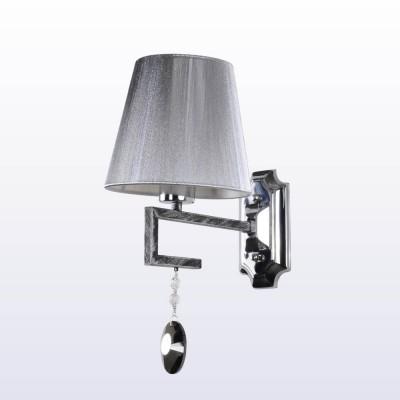 Светильник настенный бра Crystal lux BEST AP1 1200/401Современные<br><br><br>Тип цоколя: E14<br>Цвет арматуры: Черный, патина серебряная<br>Количество ламп: 1<br>Ширина, мм: 255<br>Длина, мм: 255<br>Высота, мм: 380<br>MAX мощность ламп, Вт: 60