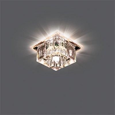 Светильник Gauss Backlight BL010 Кристал, G9, LED 2700KХрустальные<br>Встраиваемые светильники – популярное осветительное оборудование, которое можно использовать в качестве основного источника или в дополнение к люстре. Они позволяют создать нужную атмосферу атмосферу и привнести в интерьер уют и комфорт.   Интернет-магазин «Светодом» предлагает стильный встраиваемый светильник Gauss Crystal BL010. Данная модель достаточно универсальна, поэтому подойдет практически под любой интерьер. Перед покупкой не забудьте ознакомиться с техническими параметрами, чтобы узнать тип цоколя, площадь освещения и другие важные характеристики.   Приобрести встраиваемый светильник Gauss Crystal BL010 в нашем онлайн-магазине Вы можете либо с помощью «Корзины», либо по контактным номерам. Мы развозим заказы по Москве, Екатеринбургу и остальным российским городам.<br><br>S освещ. до, м2: 3<br>Тип лампы: галогенная/LED<br>Тип цоколя: G9<br>Количество ламп: 1<br>Ширина, мм: 90<br>MAX мощность ламп, Вт: 50<br>Длина, мм: 90<br>Высота, мм: 65