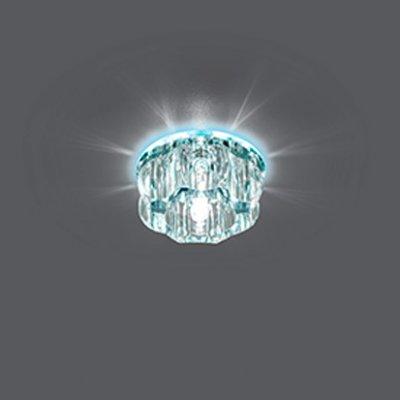 Светильник Gauss Crystal BL023 Кристал, G9, LED 4000KХрустальные<br>Встраиваемые светильники – популярное осветительное оборудование, которое можно использовать в качестве основного источника или в дополнение к люстре. Они позволяют создать нужную атмосферу атмосферу и привнести в интерьер уют и комфорт.   Интернет-магазин «Светодом» предлагает стильный встраиваемый светильник Gauss Crystal BL023. Данная модель достаточно универсальна, поэтому подойдет практически под любой интерьер. Перед покупкой не забудьте ознакомиться с техническими параметрами, чтобы узнать тип цоколя, площадь освещения и другие важные характеристики.   Приобрести встраиваемый светильник Gauss Crystal BL023 в нашем онлайн-магазине Вы можете либо с помощью «Корзины», либо по контактным номерам. Мы развозим заказы по Москве, Екатеринбургу и остальным российским городам.<br><br>Тип лампы: галогенная/LED<br>Тип цоколя: G9<br>MAX мощность ламп, Вт: 50<br>Диаметр, мм мм: 85<br>Диаметр врезного отверстия, мм: 65<br>Высота, мм: 55