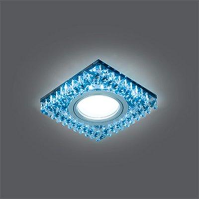 Светильник Gauss Backlight BL032 Квадрат. Черн.Кристал/Хром, Gu5.3, LED 4100KХрустальные<br>Встраиваемые светильники – популярное осветительное оборудование, которое можно использовать в качестве основного источника или в дополнение к люстре. Они позволяют создать нужную атмосферу атмосферу и привнести в интерьер уют и комфорт.   Интернет-магазин «Светодом» предлагает стильный встраиваемый светильник Gauss Backlight BL032. Данная модель достаточно универсальна, поэтому подойдет практически под любой интерьер. Перед покупкой не забудьте ознакомиться с техническими параметрами, чтобы узнать тип цоколя, площадь освещения и другие важные характеристики.   Приобрести встраиваемый светильник Gauss Backlight BL032 в нашем онлайн-магазине Вы можете либо с помощью «Корзины», либо по контактным номерам. Мы развозим заказы по Москве, Екатеринбургу и остальным российским городам.<br><br>S освещ. до, м2: 3<br>Тип лампы: галогенная/LED<br>Тип цоколя: GU5.3 (MR16)<br>Количество ламп: 1<br>Ширина, мм: 95<br>MAX мощность ламп, Вт: 50<br>Диаметр врезного отверстия, мм: 65<br>Длина, мм: 95<br>Высота, мм: 35<br>Цвет арматуры: серебристый