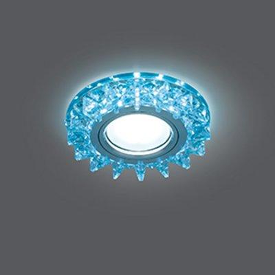 Светильник Gauss Backlight BL038 Кругл. Кристалл/Хром, Gu5.3, LED 4100KХрустальные<br>Встраиваемые светильники – популярное осветительное оборудование, которое можно использовать в качестве основного источника или в дополнение к люстре. Они позволяют создать нужную атмосферу атмосферу и привнести в интерьер уют и комфорт.   Интернет-магазин «Светодом» предлагает стильный встраиваемый светильник Gauss Backlight BL038. Данная модель достаточно универсальна, поэтому подойдет практически под любой интерьер. Перед покупкой не забудьте ознакомиться с техническими параметрами, чтобы узнать тип цоколя, площадь освещения и другие важные характеристики.   Приобрести встраиваемый светильник Gauss Backlight BL038 в нашем онлайн-магазине Вы можете либо с помощью «Корзины», либо по контактным номерам. Мы развозим заказы по Москве, Екатеринбургу и остальным российским городам.<br><br>S освещ. до, м2: 3<br>Тип лампы: галогенная/LED<br>Тип цоколя: GU5.3 (MR16)<br>Количество ламп: 1<br>MAX мощность ламп, Вт: 50<br>Диаметр, мм мм: 95<br>Диаметр врезного отверстия, мм: 65<br>Высота, мм: 35<br>Цвет арматуры: серебристый
