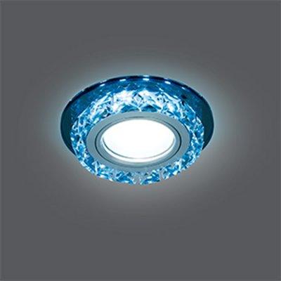 Светильник Gauss Backlight BL042 Кругл. Черный/Кристалл/Хром, Gu5.3, LED 4100KХрустальные<br>Встраиваемые светильники – популярное осветительное оборудование, которое можно использовать в качестве основного источника или в дополнение к люстре. Они позволяют создать нужную атмосферу атмосферу и привнести в интерьер уют и комфорт.   Интернет-магазин «Светодом» предлагает стильный встраиваемый светильник Gauss Backlight BL042. Данная модель достаточно универсальна, поэтому подойдет практически под любой интерьер. Перед покупкой не забудьте ознакомиться с техническими параметрами, чтобы узнать тип цоколя, площадь освещения и другие важные характеристики.   Приобрести встраиваемый светильник Gauss Backlight BL042 в нашем онлайн-магазине Вы можете либо с помощью «Корзины», либо по контактным номерам. Мы развозим заказы по Москве, Екатеринбургу и остальным российским городам.<br><br>S освещ. до, м2: 3<br>Тип лампы: галогенная/LED<br>Тип цоколя: GU5.3 (MR16)<br>Цвет арматуры: серебристый<br>Количество ламп: 1<br>Диаметр, мм мм: 95<br>Диаметр врезного отверстия, мм: 65<br>Высота, мм: 35<br>MAX мощность ламп, Вт: 50