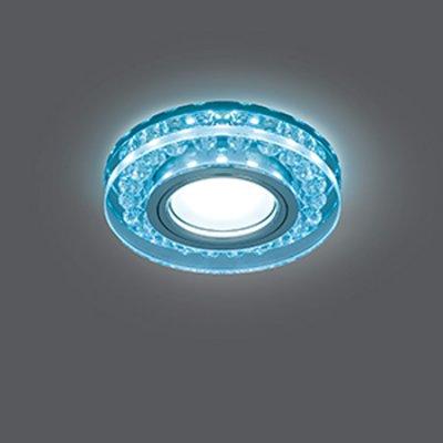 Светильник Gauss Backlight BL045 Кругл. Кристалл/Хром, Gu5.3, LED 4100KХрустальные<br>Встраиваемые светильники – популярное осветительное оборудование, которое можно использовать в качестве основного источника или в дополнение к люстре. Они позволяют создать нужную атмосферу атмосферу и привнести в интерьер уют и комфорт.   Интернет-магазин «Светодом» предлагает стильный встраиваемый светильник Gauss Backlight BL045. Данная модель достаточно универсальна, поэтому подойдет практически под любой интерьер. Перед покупкой не забудьте ознакомиться с техническими параметрами, чтобы узнать тип цоколя, площадь освещения и другие важные характеристики.   Приобрести встраиваемый светильник Gauss Backlight BL045 в нашем онлайн-магазине Вы можете либо с помощью «Корзины», либо по контактным номерам. Мы развозим заказы по Москве, Екатеринбургу и остальным российским городам.<br><br>S освещ. до, м2: 3<br>Тип лампы: галогенная/LED<br>Тип цоколя: GU5.3 (MR16)<br>Цвет арматуры: серебристый<br>Количество ламп: 1<br>Диаметр, мм мм: 95<br>Диаметр врезного отверстия, мм: 65<br>Высота, мм: 35<br>MAX мощность ламп, Вт: 50