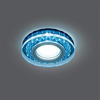 Светильник Gauss Backlight BL047 Кругл. Черный/Кристалл/Хром, Gu5.3, LED 4100KХрустальные<br>Встраиваемые светильники – популярное осветительное оборудование, которое можно использовать в качестве основного источника или в дополнение к люстре. Они позволяют создать нужную атмосферу атмосферу и привнести в интерьер уют и комфорт.   Интернет-магазин «Светодом» предлагает стильный встраиваемый светильник Gauss Backlight BL047. Данная модель достаточно универсальна, поэтому подойдет практически под любой интерьер. Перед покупкой не забудьте ознакомиться с техническими параметрами, чтобы узнать тип цоколя, площадь освещения и другие важные характеристики.   Приобрести встраиваемый светильник Gauss Backlight BL047 в нашем онлайн-магазине Вы можете либо с помощью «Корзины», либо по контактным номерам. Мы развозим заказы по Москве, Екатеринбургу и остальным российским городам.<br><br>S освещ. до, м2: 3<br>Тип лампы: галогенная/LED<br>Тип цоколя: GU5.3 (MR16)<br>Количество ламп: 1<br>MAX мощность ламп, Вт: 50<br>Диаметр, мм мм: 95<br>Диаметр врезного отверстия, мм: 65<br>Высота, мм: 35<br>Цвет арматуры: серебристый