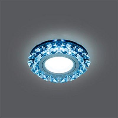 Светильник Gauss Backlight BL052 Кругл. Графит/Кристалл/Хром, Gu5.3, LED 4100KХрустальные<br>Встраиваемые светильники – популярное осветительное оборудование, которое можно использовать в качестве основного источника или в дополнение к люстре. Они позволяют создать нужную атмосферу атмосферу и привнести в интерьер уют и комфорт.   Интернет-магазин «Светодом» предлагает стильный встраиваемый светильник Gauss Backlight BL052. Данная модель достаточно универсальна, поэтому подойдет практически под любой интерьер. Перед покупкой не забудьте ознакомиться с техническими параметрами, чтобы узнать тип цоколя, площадь освещения и другие важные характеристики.   Приобрести встраиваемый светильник Gauss Backlight BL052 в нашем онлайн-магазине Вы можете либо с помощью «Корзины», либо по контактным номерам. Мы развозим заказы по Москве, Екатеринбургу и остальным российским городам.<br><br>S освещ. до, м2: 3<br>Тип лампы: галогенная/LED<br>Тип цоколя: GU5.3 (MR16)<br>Количество ламп: 1<br>MAX мощность ламп, Вт: 50<br>Диаметр, мм мм: 95<br>Диаметр врезного отверстия, мм: 65<br>Высота, мм: 35<br>Цвет арматуры: серебристый