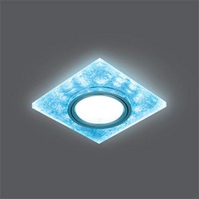 Светильник Gauss Backlight BL065 Квадрат. Белый/Серебро/Хром, Gu5.3, LED 4100KКвадратные<br>Встраиваемые светильники – популярное осветительное оборудование, которое можно использовать в качестве основного источника или в дополнение к люстре. Они позволяют создать нужную атмосферу атмосферу и привнести в интерьер уют и комфорт.   Интернет-магазин «Светодом» предлагает стильный встраиваемый светильник Gauss Backlight BL065. Данная модель достаточно универсальна, поэтому подойдет практически под любой интерьер. Перед покупкой не забудьте ознакомиться с техническими параметрами, чтобы узнать тип цоколя, площадь освещения и другие важные характеристики.   Приобрести встраиваемый светильник Gauss Backlight BL065 в нашем онлайн-магазине Вы можете либо с помощью «Корзины», либо по контактным номерам. Мы развозим заказы по Москве, Екатеринбургу и остальным российским городам.<br><br>S освещ. до, м2: 3<br>Тип лампы: галогенная/LED<br>Тип цоколя: GU5.3 (MR16)<br>Количество ламп: 1<br>Ширина, мм: 90<br>MAX мощность ламп, Вт: 50<br>Диаметр врезного отверстия, мм: 65<br>Длина, мм: 90<br>Высота, мм: 25<br>Цвет арматуры: серебристый