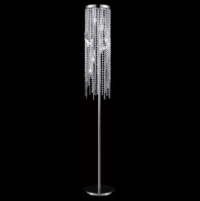 Торшер Crystal lux BLOOM PT6 CHROME 1230/606Хрустальные<br>Торшер – это не просто функциональный предмет интерьера, позволяющий обеспечить дополнительное освещение, но и оригинальный декоративный элемент. Интернет-магазин «Светодом» предлагает стильные модели от известных производителей по доступным ценам. У нас Вы найдете и классические напольные светильники, и современные варианты.   Торшер BLOOM PT6 CHROME Crystal lux сразу же привлекает внимание благодаря своему необычному дизайну. Модель выполнена из качественных материалов, что обеспечит ее надежную и долговечную работу. Такой напольный светильник можно использовать для интерьера не только гостиной, но и спальни или кабинета.   Купить торшер BLOOM PT6 CHROME Crystal lux по выгодной стоимости Вы можете с помощью нашего сайта. У нас склады в Москве, Екатеринбурге, Санкт-Петербурге, Новосибирске и другим городам России.<br><br>Тип цоколя: E14<br>Цвет арматуры: Серебристый хром<br>Количество ламп: 6<br>Диаметр, мм мм: 200<br>Высота, мм: 1500<br>MAX мощность ламп, Вт: 60