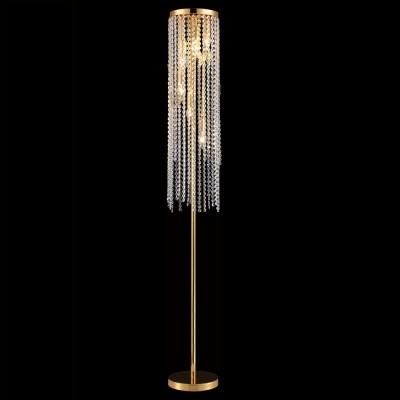 Торшер Crystal lux BLOOM PT6 GOLD 1231/606Хрустальные торшеры<br>Торшер – это не просто функциональный предмет интерьера, позволяющий обеспечить дополнительное освещение, но и оригинальный декоративный элемент. Интернет-магазин «Светодом» предлагает стильные модели от известных производителей по доступным ценам. У нас Вы найдете и классические напольные светильники, и современные варианты.   Торшер BLOOM PT6 GOLD Crystal lux сразу же привлекает внимание благодаря своему необычному дизайну. Модель выполнена из качественных материалов, что обеспечит ее надежную и долговечную работу. Такой напольный светильник можно использовать для интерьера не только гостиной, но и спальни или кабинета.   Купить торшер BLOOM PT6 GOLD Crystal lux по выгодной стоимости Вы можете с помощью нашего сайта. У нас склады в Москве, Екатеринбурге, Санкт-Петербурге, Новосибирске и другим городам России.<br><br>Тип цоколя: E14<br>Цвет арматуры: Золотой<br>Количество ламп: 6<br>Диаметр, мм мм: 200<br>Высота, мм: 1500<br>MAX мощность ламп, Вт: 60