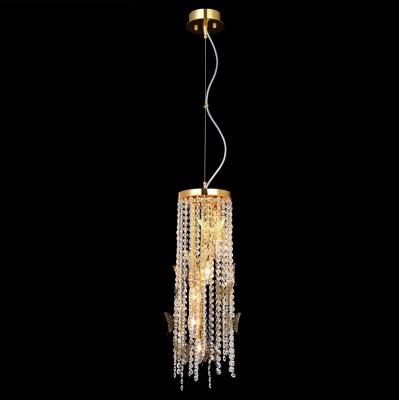 Светильник подвесной Crystal lux BLOOM SP5 GOLD 1231/205одиночные подвесные светильники<br>Подвесной светильник – это универсальный вариант, подходящий для любой комнаты. Сегодня производители предлагают огромный выбор таких моделей по самым разным ценам. В каталоге интернет-магазина «Светодом» мы собрали большое количество интересных и оригинальных светильников по выгодной стоимости. Вы можете приобрести их в Москве, Екатеринбурге и любом другом городе России.  Подвесной светильник Crystal lux BLOOM SP5 GOLD сразу же привлечет внимание Ваших гостей благодаря стильному исполнению. Благородный дизайн позволит использовать эту модель практически в любом интерьере. Она обеспечит достаточно света и при этом легко монтируется. Чтобы купить подвесной светильник Crystal lux BLOOM SP5 GOLD, воспользуйтесь формой на нашем сайте или позвоните менеджерам интернет-магазина.<br><br>S освещ. до, м2: 15<br>Тип цоколя: E14<br>Цвет арматуры: Золотой<br>Количество ламп: 5<br>Диаметр, мм мм: 160<br>Длина цепи/провода, мм: 1000<br>Высота, мм: 600<br>MAX мощность ламп, Вт: 60