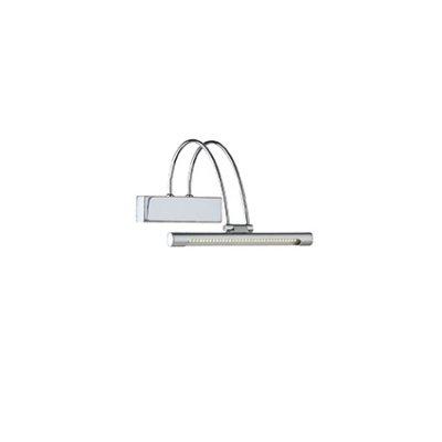 Подсветки для картин Ideal Lux BOW AP36 CROMOсветильники для подсветки картин<br>Подсветки для картин Ideal Lux BOW AP36 CROMO сделает Ваш интерьер современным, стильным и запоминающимся! Наиболее функционально и эстетически привлекательно модель будет смотреться в гостиной, зале, холле или другой комнате. А в комплекте с люстрой и торшером из этой же коллекции сделает интерьер по-дизайнерски профессиональным и законченным.