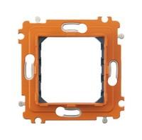 Legrand Bticino Axolute H4702 Суппорт 2 мод с винтами в комплекте с защитной крышкой и рамкой