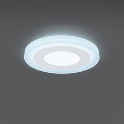 Светильник Gauss Backlight BL115 Кругл. Акрил, 3+3W, LED 4000K, ?105,Круглые<br><br><br>Цветовая t, К: 4000<br>Тип лампы: LED<br>Тип цоколя: LED<br>Диаметр, мм мм: 105<br>Высота, мм: 31<br>MAX мощность ламп, Вт: 6