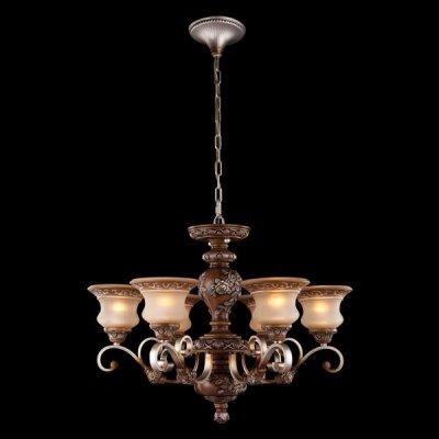 Люстра Bogateapos;s 603/6Подвесные<br><br><br>Установка на натяжной потолок: Да<br>S освещ. до, м2: 20<br>Крепление: Крюк<br>Тип товара: Люстра подвесная<br>Тип лампы: накаливания / энергосбережения / LED-светодиодная<br>Тип цоколя: E27<br>Количество ламп: 6<br>Ширина, мм: 750<br>MAX мощность ламп, Вт: 40<br>Длина, мм: 750<br>Высота, мм: 550  -  1420<br>Цвет арматуры: коричневый