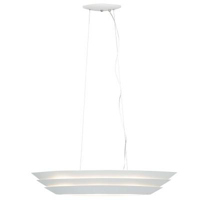 Светильник потолочный Brilliant 59576/05 ShipПодвесные<br><br><br>Установка на натяжной потолок: Да<br>S освещ. до, м2: 6<br>Крепление: Крюк<br>Тип товара: Люстра<br>Тип лампы: Накаливания / энергосбережения / светодиодная<br>Тип цоколя: E27<br>Количество ламп: 3<br>Ширина, мм: 245<br>MAX мощность ламп, Вт: 40<br>Длина, мм: 980<br>Высота, мм: 1300<br>Поверхность арматуры: матовый<br>Цвет арматуры: белый<br>Общая мощность, Вт: 120
