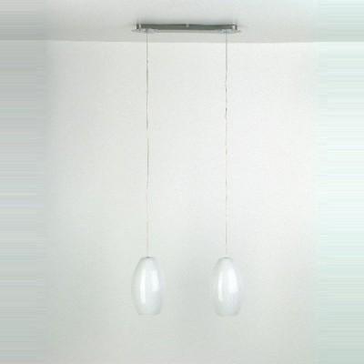 Подвес двойной Brilliant 72971/77 ElbaДвойные<br>Зачастую мы ищем идеальное освещение для своего дома и уделяем этому достаточно много времени. Так, например, если нам нужен светильник с количеством ламп - 2 и цвет плафонов должен быть - белый, а материал плафонов только стекло! То нам, как вариант, подойдет модель подвесного светильника Brilliant 72971/77. Дополнительная консультация по бесплатному телефону 8 (800) 555-40-14.<br><br>S освещ. до, м2: 10<br>Тип лампы: накаливания / энергосбережения / LED-светодиодная<br>Тип цоколя: E27<br>Количество ламп: 2<br>Ширина, мм: 490<br>MAX мощность ламп, Вт: 75<br>Цвет арматуры: серебристый хром