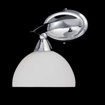 Светильник настенный бра Brizzi Серия 04433 MA 04433W/001 ChМодерн<br><br><br>S освещ. до, м2: 2<br>Тип лампы: накаливания / энергосберегающая / светодиодная<br>Тип цоколя: E14<br>Количество ламп: 1<br>MAX мощность ламп, Вт: 40<br>Диаметр, мм мм: 160<br>Размеры: H220 D160<br>Высота, мм: 220<br>Поверхность арматуры: матовый<br>Цвет арматуры: белый