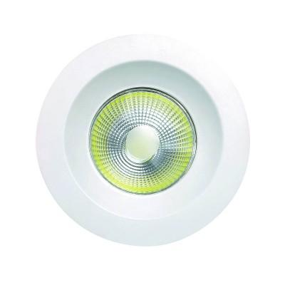 Светильник спот Mantra C0046 BASICO COBСветодиодные круглые светильники<br>Встраиваемые светильники – популярное осветительное оборудование, которое можно использовать в качестве основного источника или в дополнение к люстре. Они позволяют создать нужную атмосферу атмосферу и привнести в интерьер уют и комфорт.   Интернет-магазин «Светодом» предлагает стильный встраиваемый светильник Mantra C0046. Данная модель достаточно универсальна, поэтому подойдет практически под любой интерьер. Перед покупкой не забудьте ознакомиться с техническими параметрами, чтобы узнать тип цоколя, площадь освещения и другие важные характеристики.   Приобрести встраиваемый светильник Mantra C0046 в нашем онлайн-магазине Вы можете либо с помощью «Корзины», либо по контактным номерам. Мы развозим заказы по Москве, Екатеринбургу и остальным российским городам.<br><br>Цветовая t, К: 4000<br>Тип лампы: LED<br>Цвет арматуры: белый матовый<br>Диаметр, мм мм: 95<br>Высота, мм: 45<br>MAX мощность ламп, Вт: 5