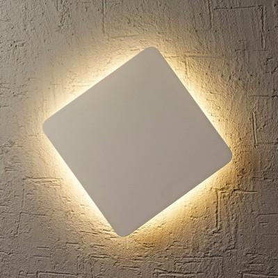Настенный светильник бра Mantra C0104 BORA BORAнакладные настенные светильники<br><br><br>Цветовая t, К: 3000<br>Тип лампы: LED<br>Цвет арматуры: белый матовый<br>Ширина, мм: 180<br>Длина, мм: 180<br>Расстояние от стены, мм: 31<br>MAX мощность ламп, Вт: 12