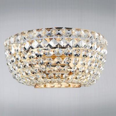 Светильник Maytoni C100-WB1-G Diamant Basforхрустальные бра<br>Изящное бра производства компании Maytoni с восхитительной хрустальной отделкой располагает к себе даже при просмотре фото. Основу его составляет металлическая арматура, выкрашенная под золото. Бра Maytoni Diamant Crystal C100-WB1-G станет удачным дизайнерским элементом и легко впишется в интерьер помещения. Купить этот оригинальный и красивый светильник будет хорошим решением, как по цене, так и по качеству исполнения. Торговый бренд Майтони уже зарекомендовал себя в России – стоимость их продукции адекватно сопоставима с качеством и интересными дизайнерскими решениями.<br><br>Установка на натяжной потолок: Ограничено<br>S освещ. до, м2: 8<br>Крепление: Планка<br>Тип лампы: накаливания / энергосбережения / LED-светодиодная<br>Тип цоколя: E14<br>Цвет арматуры: золотой<br>Количество ламп: 2<br>Ширина, мм: 260<br>Высота, мм: 130<br>MAX мощность ламп, Вт: 60