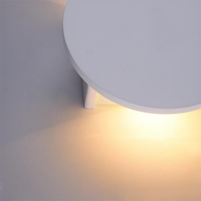 Бра Maytoni C123-WL-02-3W-W ParmaХай-тек<br><br><br>Тип лампы: LED<br>Тип цоколя: LED 580 LM<br>Цвет арматуры: Белый<br>Ширина, мм: 155<br>Глубина, мм: 50<br>Высота, мм: 155<br>MAX мощность ламп, Вт: 3