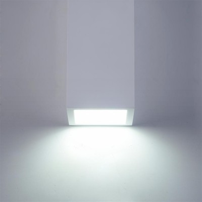 Бра Maytoni C190-WL-02-W ParmaХай-тек<br><br><br>Тип лампы: LED<br>Тип цоколя: LED 400 LM<br>Цвет арматуры: Белый<br>Ширина, мм: 70<br>Глубина, мм: 70<br>Высота, мм: 220<br>MAX мощность ламп, Вт: 5