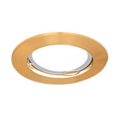 Светильник Gauss Metal CA002 Круг. Золото, Gu5.3Круглые<br>Встраиваемые светильники – популярное осветительное оборудование, которое можно использовать в качестве основного источника или в дополнение к люстре. Они позволяют создать нужную атмосферу атмосферу и привнести в интерьер уют и комфорт.   Интернет-магазин «Светодом» предлагает стильный встраиваемый светильник Gauss Metal CA002. Данная модель достаточно универсальна, поэтому подойдет практически под любой интерьер. Перед покупкой не забудьте ознакомиться с техническими параметрами, чтобы узнать тип цоколя, площадь освещения и другие важные характеристики.   Приобрести встраиваемый светильник Gauss Metal CA002 в нашем онлайн-магазине Вы можете либо с помощью «Корзины», либо по контактным номерам. Мы развозим заказы по Москве, Екатеринбургу и остальным российским городам.<br><br>S освещ. до, м2: 3<br>Тип лампы: галогенная/LED<br>Тип цоколя: GU5.3 (MR16)<br>Количество ламп: 1<br>MAX мощность ламп, Вт: 50<br>Диаметр, мм мм: 75<br>Диаметр врезного отверстия, мм: 60<br>Высота, мм: 25<br>Цвет арматуры: Золотой