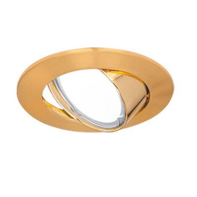 Светильник Gauss Metal CA007 Круг. Золото, Gu5.3Круглые<br>Встраиваемые светильники – популярное осветительное оборудование, которое можно использовать в качестве основного источника или в дополнение к люстре. Они позволяют создать нужную атмосферу атмосферу и привнести в интерьер уют и комфорт.   Интернет-магазин «Светодом» предлагает стильный встраиваемый светильник Gauss Metal CA007. Данная модель достаточно универсальна, поэтому подойдет практически под любой интерьер. Перед покупкой не забудьте ознакомиться с техническими параметрами, чтобы узнать тип цоколя, площадь освещения и другие важные характеристики.   Приобрести встраиваемый светильник Gauss Metal CA007 в нашем онлайн-магазине Вы можете либо с помощью «Корзины», либо по контактным номерам. Мы развозим заказы по Москве, Екатеринбургу и остальным российским городам.<br><br>S освещ. до, м2: 3<br>Тип лампы: галогенная/LED<br>Тип цоколя: GU5.3 (MR16)<br>Количество ламп: 1<br>MAX мощность ламп, Вт: 50<br>Диаметр, мм мм: 85<br>Диаметр врезного отверстия, мм: 75<br>Высота, мм: 25<br>Цвет арматуры: Золотой