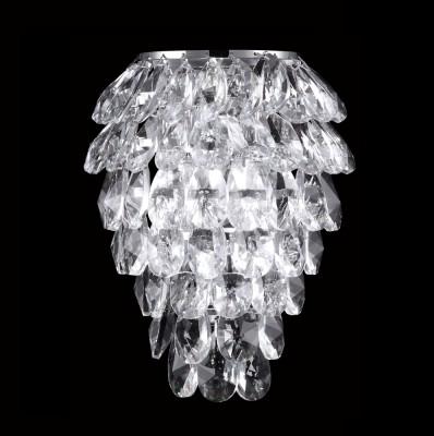 Светильник настенный бра Crystal lux CHARME AP2+2 LED CHROME/TRANSPARENT 1370/404хрустальные бра<br><br><br>Тип цоколя: G9+LED<br>Цвет арматуры: Серебристый Серебристый хром<br>Количество ламп: 2+2<br>Ширина, мм: 130<br>Длина, мм: 190<br>Высота, мм: 250<br>MAX мощность ламп, Вт: 40+2