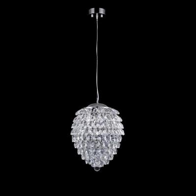 Светильник подвесной Crystal lux CHARME SP2+2 LED CHROME/TRANSPARENT 1370/204подвесные хрустальные люстры<br>Компания «Светодом» предлагает широкий ассортимент люстр от известных производителей. Представленные в нашем каталоге товары выполнены из современных материалов и обладают отличным качеством. Благодаря широкому ассортименту Вы сможете найти у нас люстру под любой интерьер. Мы предлагаем как классические варианты, так и современные модели, отличающиеся лаконичностью и простотой форм. <br>Стильная люстра Crystal lux CHARME SP2+2 LED CHROME/TRANSPARENT станет украшением любого дома. Эта модель от известного производителя не оставит равнодушным ценителей красивых и оригинальных предметов интерьера. Люстра Crystal lux CHARME SP2+2 LED CHROME/TRANSPARENT обеспечит равномерное распределение света по всей комнате. При выборе обратите внимание на характеристики, позволяющие приобрести наиболее подходящую модель. <br>Купить понравившуюся люстру по доступной цене Вы можете в интернет-магазине «Светодом».<br><br>Установка на натяжной потолок: Да<br>S освещ. до, м2: 5<br>Тип цоколя: G9+LED<br>Цвет арматуры: Серебристый хром<br>Количество ламп: 2+2<br>Диаметр, мм мм: 250<br>Длина цепи/провода, мм: 1000<br>Высота, мм: 310<br>MAX мощность ламп, Вт: 40+3
