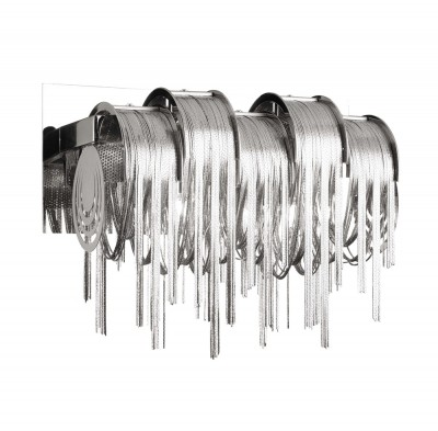 Светильник настенный бра Crystal lux CITY LIGHTS AP3 1390/403Современные<br><br><br>Тип цоколя: G9<br>Цвет арматуры: Серебристый Серебристый хром<br>Количество ламп: 3<br>Ширина, мм: 177<br>Длина, мм: 320<br>Высота, мм: 222<br>MAX мощность ламп, Вт: 60