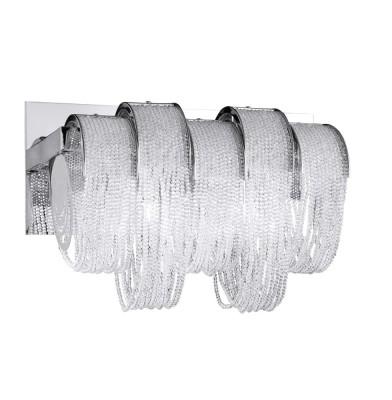 Светильник настенный бра Crystal lux CITY LIGHTS CRYSTAL AP3 1391/403Современные<br><br><br>Тип цоколя: G9<br>Цвет арматуры: Серебристый Серебристый хром<br>Количество ламп: 3<br>Ширина, мм: 177<br>Длина, мм: 320<br>Высота, мм: 222<br>MAX мощность ламп, Вт: 60