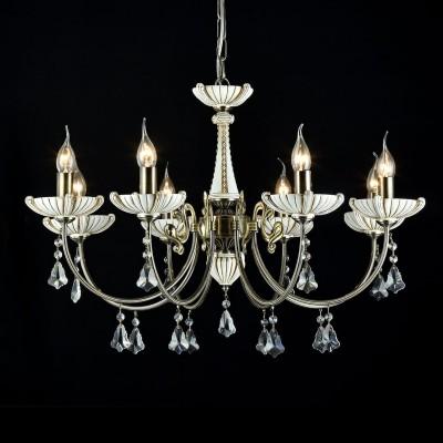 Люстра Maytoni CL0014-08-R ShellПодвесные<br><br><br>Установка на натяжной потолок: Да<br>S освещ. до, м2: 24<br>Крепление: Крюк<br>Тип товара: Люстра<br>Скидка, %: 3<br>Тип лампы: накаливания / энергосбережения / LED-светодиодная<br>Тип цоколя: E14<br>Количество ламп: 8<br>MAX мощность ламп, Вт: 60<br>Диаметр, мм мм: 770<br>Высота, мм: 400<br>Цвет арматуры: бронзовый