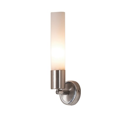 Citilux Компакто CL101311 Светильник настенный браСовременные<br>Бра CL101311 Ситилюкс - Дания из коллекции Компакто - отличная возможность улучшить абсолютно любое пространство. Хотите купить бра? Смотрите соответсвующий раздел магазина.<br><br>S освещ. до, м2: 4<br>Тип лампы: накаливания / энергосбережения / LED-светодиодная<br>Тип цоколя: E14<br>Количество ламп: 1<br>Ширина, мм: 90<br>MAX мощность ламп, Вт: 60<br>Размеры: Плафоны установлены на шарнирах с возможностью именения положения, Ширина 9см, Глубина 10см.<br>Расстояние от стены, мм: 100<br>Высота, мм: 290<br>Поверхность арматуры: глянцевый<br>Цвет арматуры: серебристый