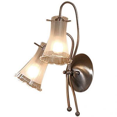 Citilux Дана CL106321 Светильник настенный браСовременные<br>Бра CL106321 Ситилюкс - Дания из серии Дана - отличная возможность украсить любое помещение или пространство. Хотите купить бра? Посмотрите соответсвующий каталог интернет магазина.<br><br>S освещ. до, м2: 8<br>Тип лампы: накаливания / энергосбережения / LED-светодиодная<br>Тип цоколя: E14<br>Цвет арматуры: серый<br>Количество ламп: 2<br>Ширина, мм: 260<br>Размеры: Высота 35см, Ширина 26см, Глубина 16см.<br>Расстояние от стены, мм: 169<br>Высота, мм: 350<br>Поверхность арматуры: матовый<br>MAX мощность ламп, Вт: 60